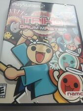 Taiko Drum Master (Sony PlayStation 2, 2004) Black Label Complete Blue Disk