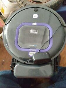 Black And Decker  Smart Tech Robotic Vacuum