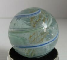 """Vintage 1 1//4/"""" Shooter Marble hand rolled clay limestone Antique"""