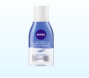 Nivea Double Effect Eye Make-up Remover Daily Essential Face Care 125 ml Protect