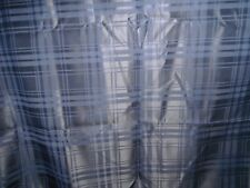 Navy Blue with Self Satin Stripe Light Weight Suiting 2.1mt x 150cm