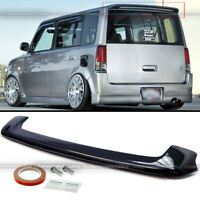 For 04 05 06 Scion xB bB Glossy Black JDM Factory Style Rear Roof Wing Spoiler