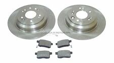 for HONDA ACCORD 2.0 2.2 I-DTEC 08-14 REAR 2 BRAKE DISCS & PADS (CHECK SIZE 305)