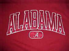 Alabama Crimson Tide NCAA SEC Jansport Team Logo Red Men Fleece Sweatshirt M
