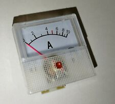 10A Analog Amp Meter 40x40mm