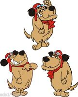 3 X MUTLEY STYLE Sticker DECAL GRAPHIC 100mm high Use ON ANY FLAT SURFACE RETRO