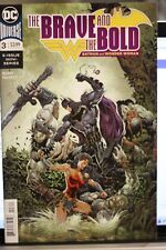THE BRAVE AND THE BOLD (BATMAN AND WONDER WOMAN) #3  DC COMICS (2018)