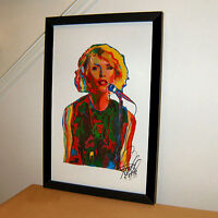 Debbie Harry Blondie Singer New Wave Punk Rock Music Print Poster Wall Art 11x17
