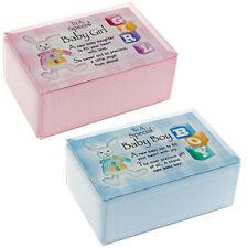 Baby Boy Girl Musical Gift Box Set Battesimo Nascita Bomboniera messaggio MEMORIA NUOVO