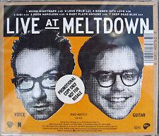 Elvis COSTELLO CD Live At Meltdown 1995 w/ BILL FRISELL 7 Trk PROMO UNPLAYED