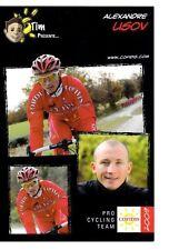 CYCLISME carte cycliste ALEXANDRE LISOV équipe COFIDIS 2009