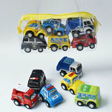 6Pcs/set Cars Pull Back Car Play Set Cartoon Vehicle Trucks Baby Kids Toys
