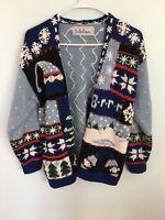 BELLEPOINT Ugly Christmas Sweater Winter Theme Medium??