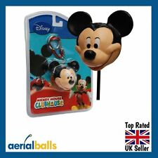 NEW 4 in 1 Disney Mickey Mouse Car Aerial Ball Topper