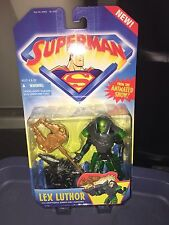 1996 Superman Animated Lex Luthor with Kryptonite and Launcher
