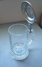 Old Spice Ship Grand Turk Stein with Pewter Lid - West Germany