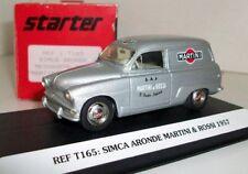 STARTER 1/43 - T165 SIMCA ARONDE MESSAGERE 1957 'MARTINI & ROSSI' RESIN MODEL