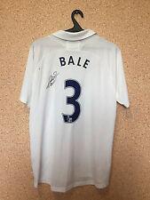Tottenham Hotspur 2011/12 HOME FOOTBALL SHIRT JERSEY MAGLIA AFTOGRAPH #3 BALE