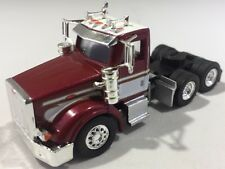 Herpa Promotex 1/87 Peterbilt 367 Burgundy And White Tractor Trailer Truck Cab