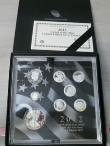 2012 US Mint Limited Edition Silver Proof Set
