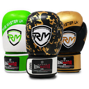 RingMaster Boxing Gloves Training Bag Mitt Punch MMA Fight Kick Martial Thai