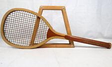 Antique Wright Ditson Tennis Racquet Racket 1891-1899 Original Strings RARE