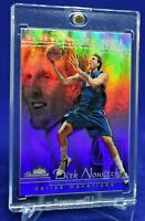DIRK NOWITZKI SHOWCASE RAINBOW REFRACTOR RARE SP DALLAS MAVERICKS FUTURE HOF