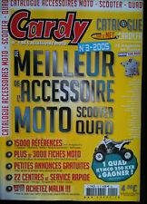 CATALOGUE ACCESOIRE CARDY MOTO 2005
