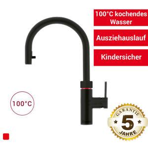 Quooker PRO3-VAQ B Flex schwarz Kochendwassersystem Armatur 100°C Wasserhahn