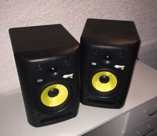 KRK Rokit 6 RPG2 Matched Pair with power cables - one speaker has no audio
