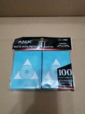 More details for ultra pro guilds of ravnica-azorius senate deck protector (1000) sleeves 10 pack