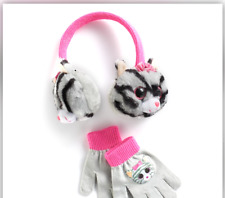 Ty Beanie Boos Kiki the Cat Ear Muffs & Gloves Set - Exclusive - FREE SHIPPING