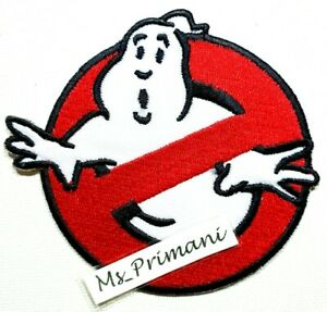 Ghostbusters Halloween Embroidered Iron/Sew On Patch Dress Jacket Shirt  Badge