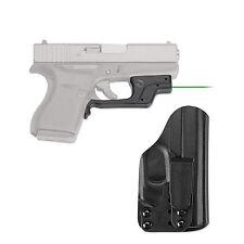 *NEW Crimson Trace Laser Sight For Glock 42 43 Green BLADETECH HOLSTER LG-443G-H