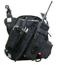 Coaxsher Radio Chest Harness Security Scout Strap Walki Talki Holster Rig Pack