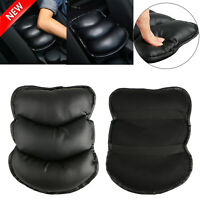 Universal PU Leather Car Auto Armrest Pad Covers Center Console Pads Accessories