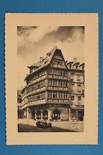 Alsace Bas-Rhin Alsace 67 AK CPA Strasbourg 1940er Strasbourg Maison Kammerzell