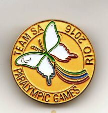 RIO 2016. PARALYMPIC GAMES. NOC PIN. SOUTH AFRICA