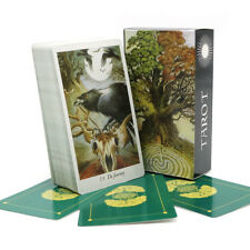 Nature tarot deck mysterious animal playing cards game Full English playing card
