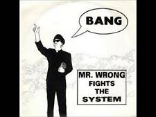 "Mr Wrong Fights The System 7"" Vinyl Record nomeansno no means rare prog punk NEW"
