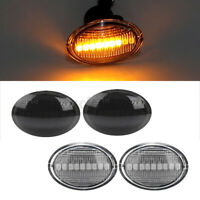 2x LED Side Marker Indicator Repeater Light For Fiat 500 Abarth Ford KA !