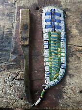 19th C Native American Beaded Knife Sheath
