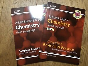 CGP New A-Level Chemistry: AQA Year 1 & AS, Year 2 Complete Revision & Practice.