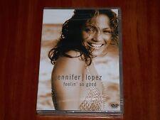 JENNIFER LOPEZ FEELIN' SO GOOD DVD VIDEOS LIVE FOOTAGE INTERVIEW DOCUMENTARY New
