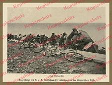 K.u.K Kaiserjäger Radfahrer-Seebataillon Wachposten Adria Balkan Küstenland 1914