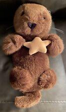 Euc Vintage Dakin Sea Otter Plush Cuddly 14 Inches Holding Star 1993 Starfish
