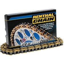 Renthal R1 428 MX Works Chain 120 Link For 1994-2001 Yamaha YZ80 Big Wheel