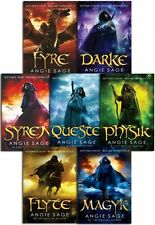 Septimus Heap Collection Angie Sage 7 Books Set Fyre Darke Syren Queste Physik