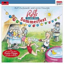 Rolf Zuckowski Rolfs Familien Sommerfest 15 Titel 1xCD Neu+in Folie #L2