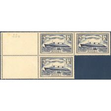 N°__299 NORMANDIE FEUILLET 3 TIMBRES NEUFS** 1935